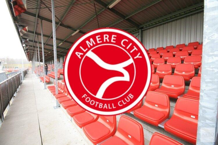 Almere City FC toont eenheid tegen FC Eindhoven